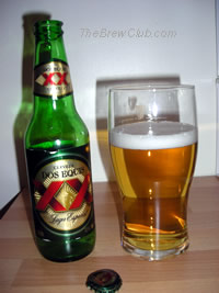 Dos Equis Lager Mexican Beer Review