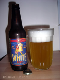 lakefront brewing Belgian white beer review
