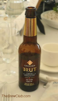Curious Brut Beer from England