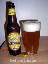 Sam Adams Cherry Wheat Beer Review