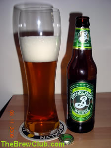 Brooklyner Weisse Beer by Brooklyn Brewery