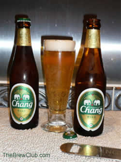 Chang Beer from Thailand beer review