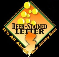Beer Stained Letter - New Jersey Beer Blog