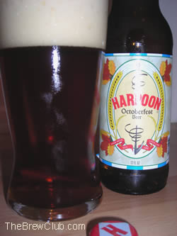 Harpoon Oktoberfest Beer Review