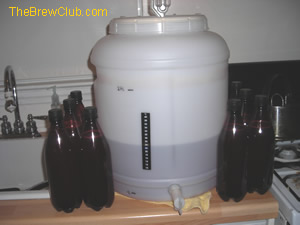 Home Brew Kit Bottling