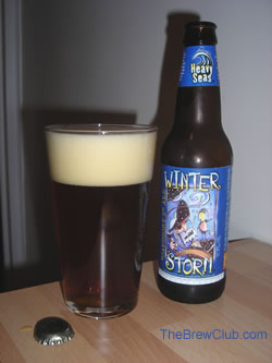 Clipper City Winter Storm Beer