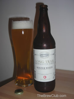 Long Trail Winter White Beer