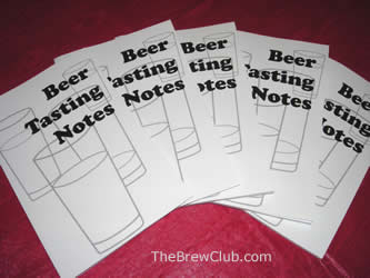 Beer Tasting Notes Book