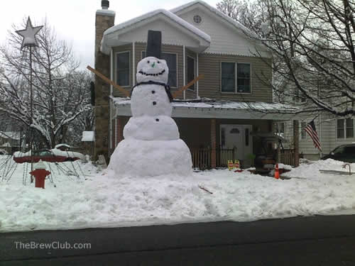 giant new jersey snowman