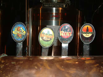 franciscan well beer taps