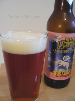 Avery Hog Heaven Barley Wine Style Ale