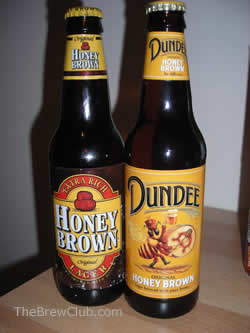 Dundee Honey Brown Labels