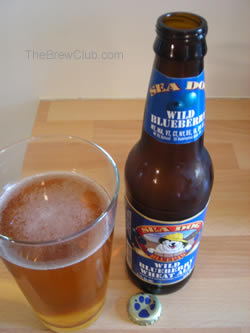 Sea Dog BluePaw Blueberry Beer