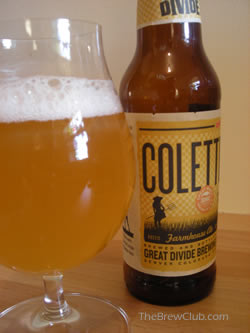Colette Saison - Great Divide Brewing