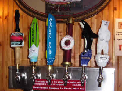 Alaskan Brewing Taps