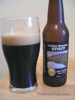 Bar Harbor Cadillac Mountain Stout