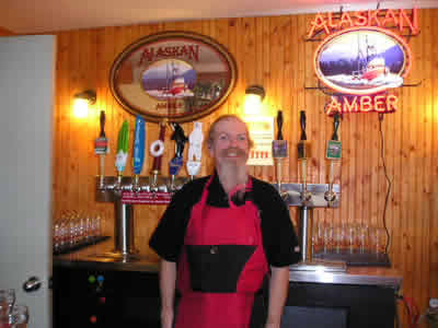 Tony at Alaskan Brewing
