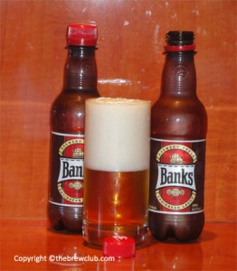 Banks Beer - Plastic Bottles