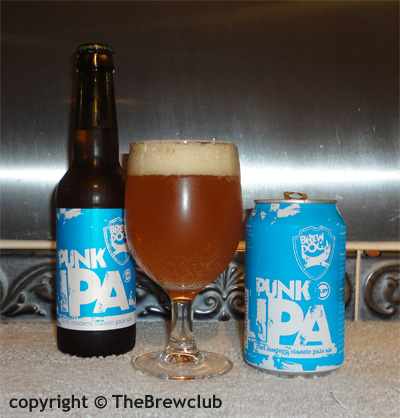 Brewdog Punk IPA review from The Brew Club