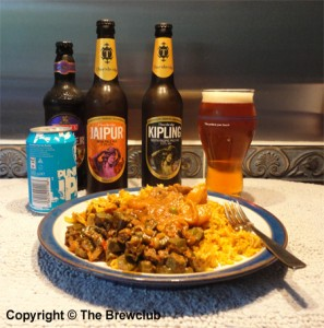 Curry and IPA - from The Brewclub
