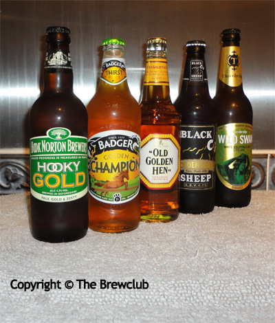 British Golden Ales