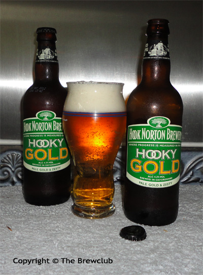 Hook Norton Hooky Gold at The Brew club