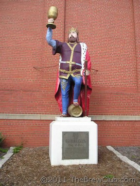 King Gambrinus Statue