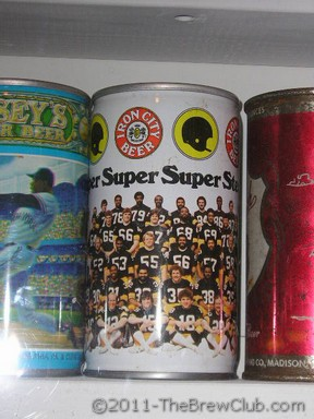 Steelers Beer Can