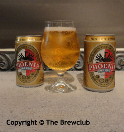 Phoenix Beer - from Mauritius - at The Brewclub