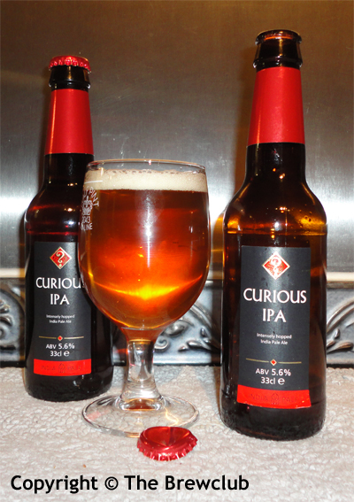 Curious IPA - from the Brewclub