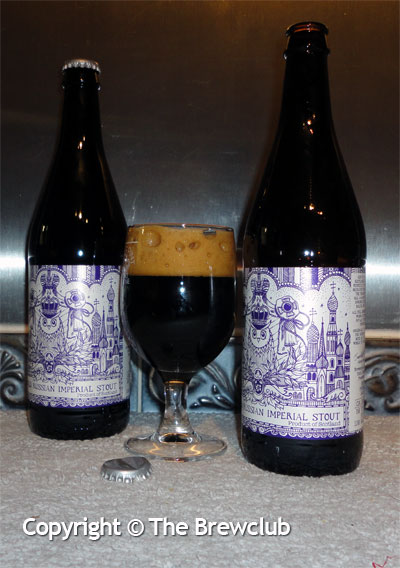 Old World Imperial Stout - from the Brewclub