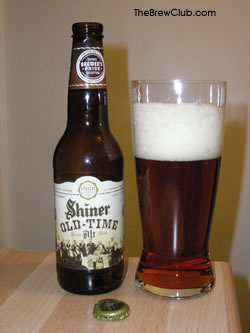Shiner Old Time Alt Beer