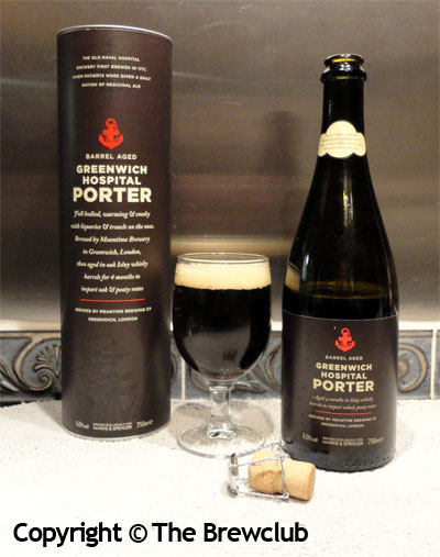 Meantime Hospital Porter - from The Brewclub