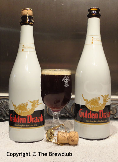 Gulden Draak - Dark Brown Belgian Tripel