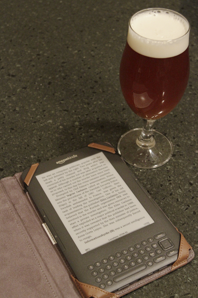 Beer and Kindle - at The Brewclub