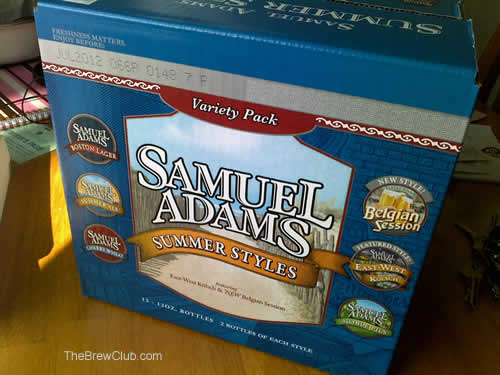 sam adams summer styles 2011