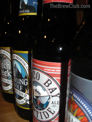 Craft Beer Club Samples