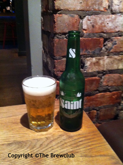 Saint Lager - From The Brewclub