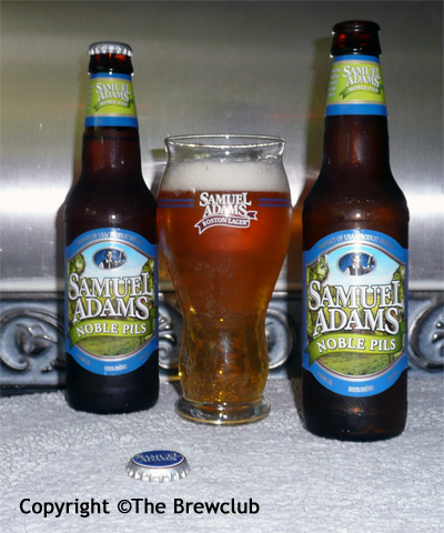 Sam Adams Noble Pils - at The Brewclub