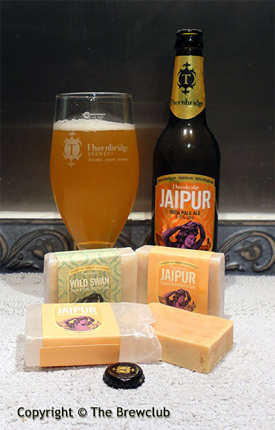 Thornbridge Jaipur and Wild Swan Soaps - at The Brewclub