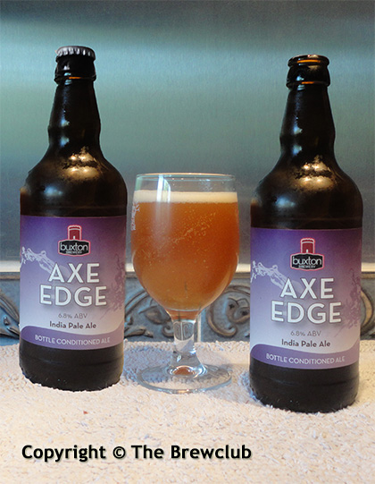 Buxton Axe Edge IPA - at The Brewclub