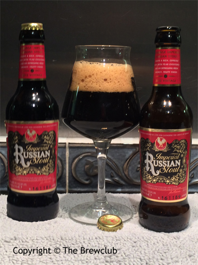 Courage Imperial Russian Stout - at The Brewclub.com