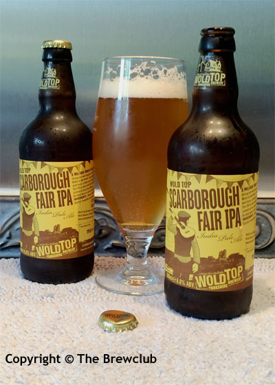 Scarborough Fair IPA - from The Brewclub