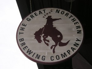great northern brewing company sign