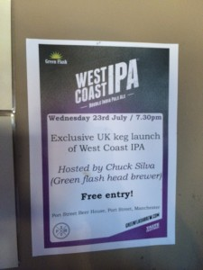 Green Flash West Coast IPA Launch @ The Brewclub