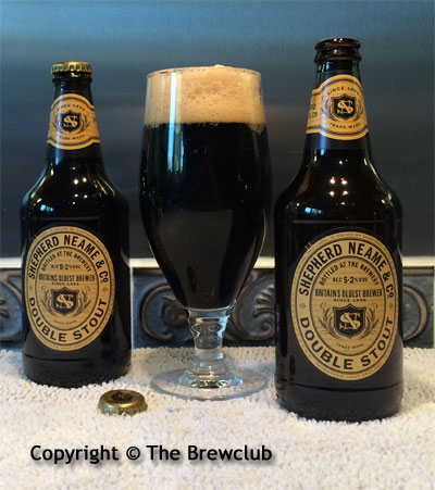 Shepherd Neame Double Stout at The Brewclub