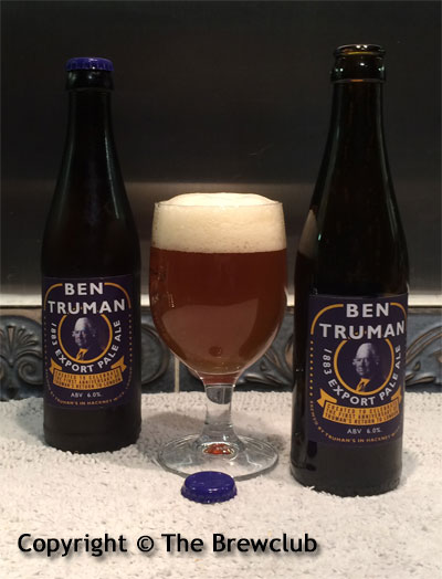 Ben Trueman Export Pale Ale @ The Brewclub