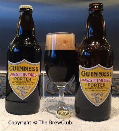 Guinness West Indies Porter @ The Brewclub