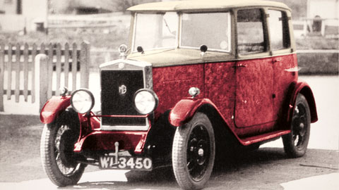 Old Speckled Hen Car