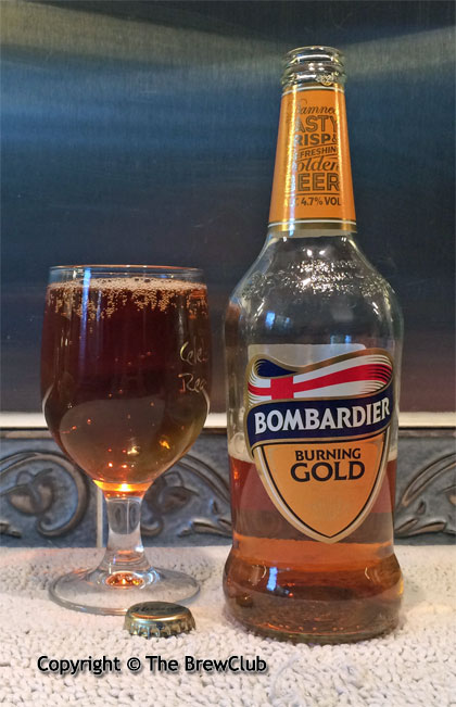 Bombardier Gold @ The Brewclub